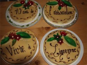 Gâteau des 10 ans